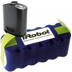 Pack batería IROBOT XLIFE + pared virtual estándar para IROBOT ROOMBA