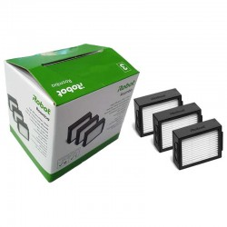Caja de 3 filtros para IROBOT ROOMBA series E5 - i7