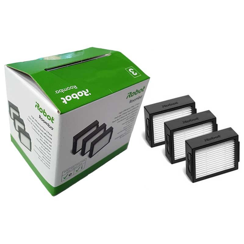 Caixa com 3 filtros HEPA originais de...