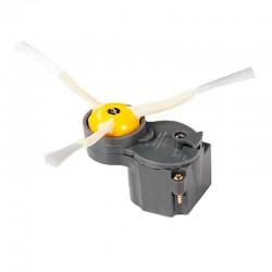 Motor cepillo lateral + 1 cepillo para IROBOT ROOMBA series 500, 600, 700 (gris)