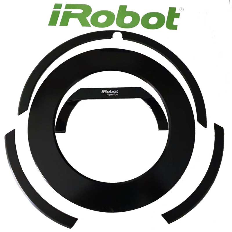 Kit decorativo original para iRobot ROOMBA 876 (Asa+Tapa+Bordes)
