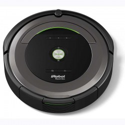 iRobot ROOMBA 681, Robot aspirador serie 6 con control por App y filtro AeroVac