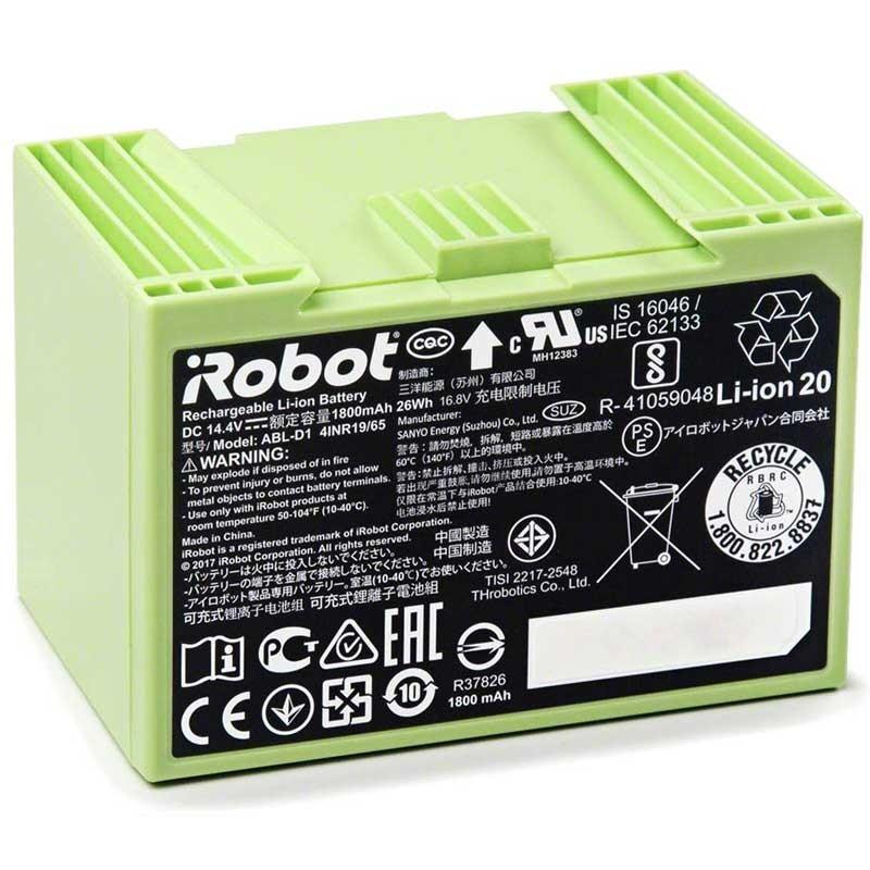 copy of Bateria original iRobot XLIFE...