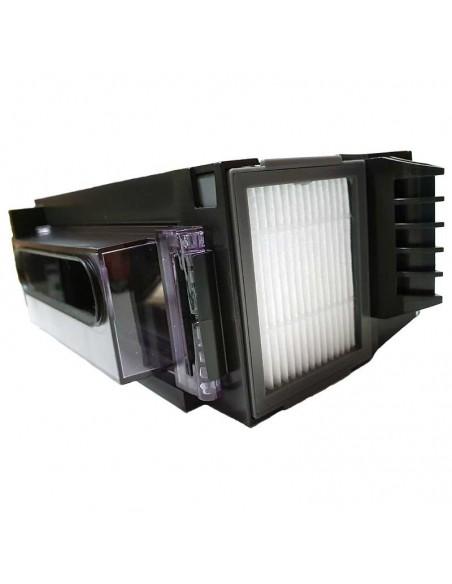 Deposito iRobot ROOMBA E5, vista del filtro Hepa