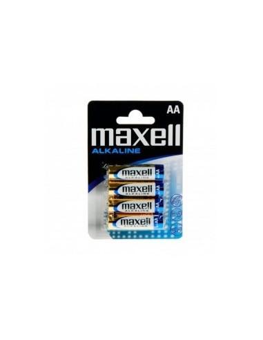 Maxell LR06 AA pila alcalina de 1.5V (4 uni.)