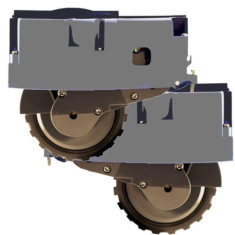 Pack de 2 ruedas laterales para IROBOT ROOMBA serie 800/900