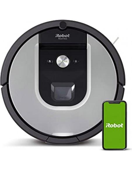 IROBOT ROOMBA 970, Robot aspirador serie 9 con Power Boost y control por App