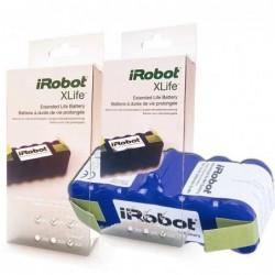 Pack de 2 baterías IROBOT XLIFE para ROOMBA series 500/600/700/800/900