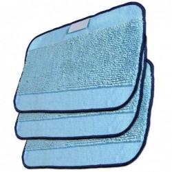Paquete de 3 mopas microfibra de fregado originales para IROBOT BRAAVA