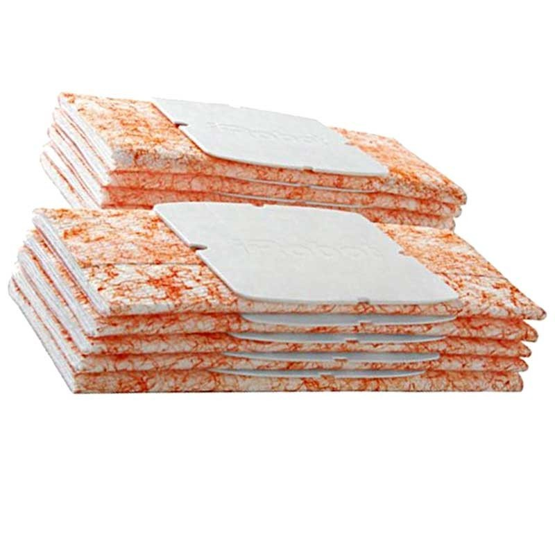 Paquete de 10 paños de barrido en húmedo originales para BRAAVA JET 240